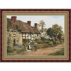 Welford on Avon Counted Cross Stitch Leaflet - Cross Stitch, Needlepoint, Embroidery Kits – Tools and Supplies Embroidery Kits, Cross Stitch Embroidery, Counted Cross Stitch Kits, Quilt Kits, Needle And Thread, Needlepoint, Avon, Sewing Crafts, Needlework