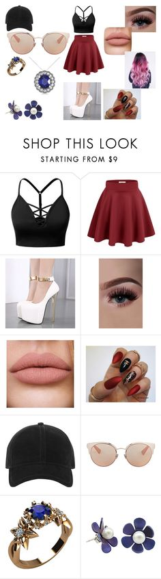 """""""company girl"""" by hannah-may-malone on Polyvore featuring J.TOMSON, rag & bone, Christian Dior and Allurez"""