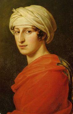 Portrait of Antonie Brentano,1808 by Joseph Karl Stieler (German 1781-1858)