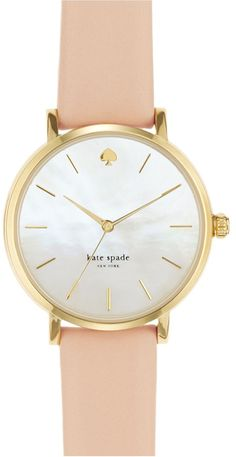 Gorgeous watch by kate spade. Want it!!