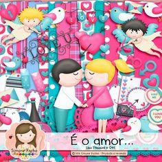 Kit Digital É o amor... by Simone Rocha