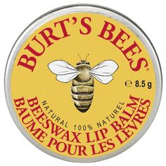 https://www.asimplelifecosmetics.com/collections/burts-bees/products/burts-bees-beeswax-lip-balm-tin-8-5g?utm_content=buffereee08&utm_medium=social&utm_source=pinterest.com&utm_campaign=buffer  #Lipcare  #beeswax #Antioxidant #vitaminE  with #peppermintoil #naturalbeauty #fallinlowithyourself #bees #lipbalm #vegetarian #love