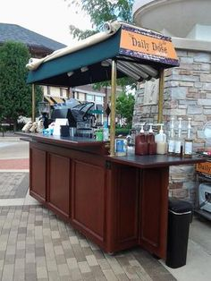 Van San VS810 Espresso Cart and Euipment: 10/14/2013 (St. Louis, Missouri) - Very good condition.  Includes Wega 2 group espresso machine, 6.2 cu. ft. fridge, Wega coffee grinder, BlendTec EZ blender,
