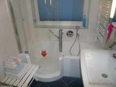 Twinline 1 Badewanne und Dusche in Einem...cool für kleine Badezimmer