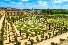 Versailles Palace gardens near Paris, France. Versailles, France: Gardens of the , Visit Versailles, Versailles Garden, Palace Of Versailles, Kew Gardens, Château De Villandry, Day Trip From Paris, Grand Parc, Palace Garden, Famous Gardens