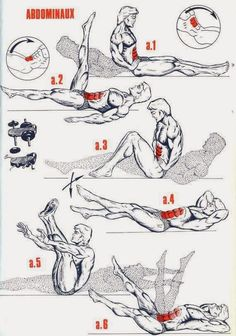 - Musculation - - Photos The Fitness era: BEST abs workout avai. Fitness Workouts, At Home Workouts, Trainer Fitness, Muscle Fitness, Mens Fitness, Health Fitness, Cycle Trainer, Workout Bauch, Best Ab Workout