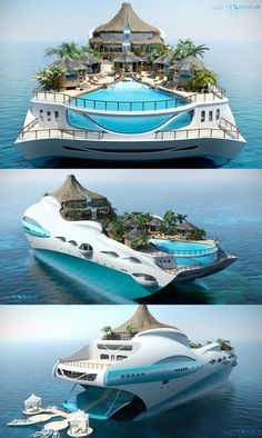 What a yacht...!?