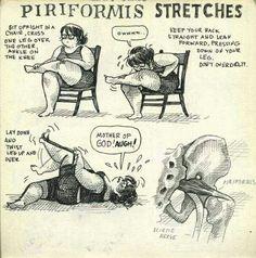 Piriformis Stretches