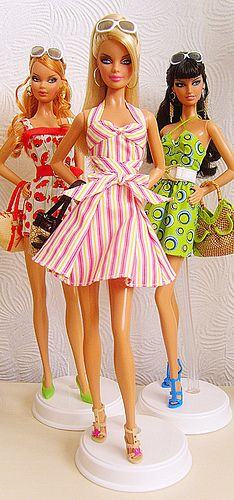 My Barbie Top Models 'Resort' Collection by Fashion_Luva, via Flickr
