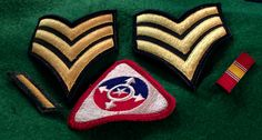 Army Embroidered Patch Lot with 1 Pin by CoryCranksOutHats on Etsy