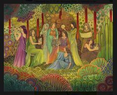 The Third adventure (third sister featured) art by emily balivet