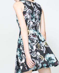 ZARA - TRF - FLORAL PRINT DRESS