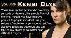 I am Ms. Kensi Bl....Mrs Kensi Deeks