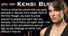 I am Ms. Kensi Bl....Mrs Kensi Deeks