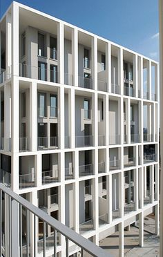 ZAC Berthelot Apartments, Lyon, France by Clement Vergely Architectes. Architecture Design, Facade Design, Beautiful Architecture, Residential Architecture, Contemporary Architecture, Ancient Architecture, Sustainable Architecture, Landscape Architecture, Building Exterior