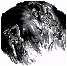 Virgil Finlay, Black Moon by Seabury Quinn, Weird Tales 38-10, a Jules de Grandin story.