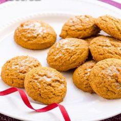 Healthy Gingersnap Cookies