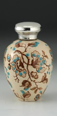 Taylor Tunnicliffe Scent Pefume Bottle, late 1800s