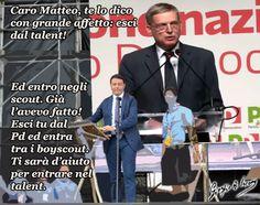 Se Renzi esce dal talent, poi dove entra?