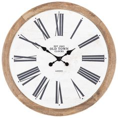 eb254a5599f9 56 Best Clocks images in 2019 | Clock wall, Art walls, Wall Clocks