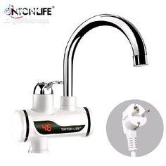 Kitchen Utensils, Faucet Kitchen, Kitchen Sets, Water Supply, Led, Black Decor, Plugs, Sink, Electric