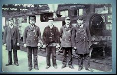 Railway staff West Hartlepool