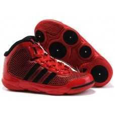 Adidas TS adiPure mens basketball red/black shoes for sale