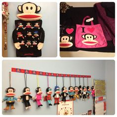 This #PaulFrank collection is adorable! Who else displays their Julius collection in their home?