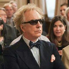 "2012 -- Alan Rickman as Lord Shahbandar in ""Gambit""."