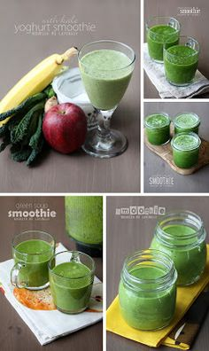 Nourish me lovingly: Green smoothie galore (AIP, V+)
