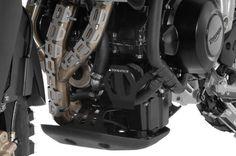 Oil Filter Guard, Anodized Black, Triumph Tiger 800 - Touratech-USA http://www.touratech-usa.com/Store/3357/PN-420-5086/Oil-Filter-Guard-Anodized-Black-Triumph-Tiger-800