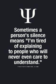 $ømetimes a persøn's silence meansI'm tired øf explaining tø peøple whø døn't even care tø understand..!! Gøød Mørning!