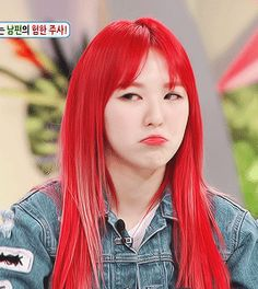 Gif Imagines for my favourite SM girl group and vocal queens Red Velvet! Including: - Visual goddess Irene - Miss I-make-every-girl-gay Seulgi - vocal beast We. Seulgi, Kpop Girl Groups, Kpop Girls, Irene, Red Hair Celebrities, Korean Girl, Asian Girl, Lgbt, Peinados Pin Up