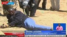 'Demonic Headteacher' Flogged in Public for R*ping 3 Children (Photos+Video)