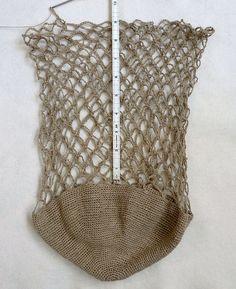 Crochet Market Tote Free Pattern