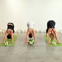 Love the idea of a relaxing yoga session the night before or morning of the wedding!