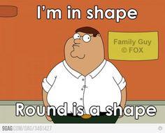 I'm in shape