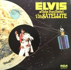 Elvis Presley Aloha From Hawaii Via Satellite 1972 Vinyl LP Record Album