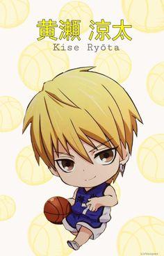 {Kuroko no Basket} Kise Ryouta, Chibi, Kaijo Uniform Kuroko Chibi, Kise Ryouta, Kuroko Tetsuya, Manga Anime, Anime Guys, Cute Anime Chibi, Kawaii Anime, Kuroko No Basket Characters, Basketball Anime