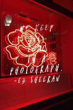 Photograph // Ed Sheeran