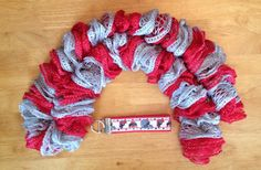 Ohio State Cha Cha scarf and Wristlet Free Shipping on Etsy, $30.00