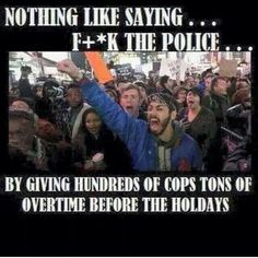 Protest away! (I like this meme even though the word holiday is missing an I)