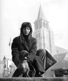 """Juliette Gréco, Saint-Germain-des-Prés, Paris 1947  """"A photographer who made a picture from a splendid moment, an accidental pose of someone or a beautiful scenery, is the finder of a treasure."""" Robert Doisneau"""