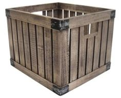 traditional storage boxes by Target - firewood