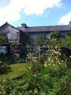 Beatrix Potters house - Hilltop, near sawrey, Lake District, UK
