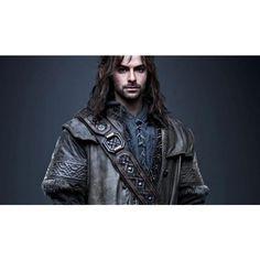 the_hobbit_kili_dwarf_aidan_turner__E1.jpg (620×357) ❤ liked on Polyvore featuring the hobbit