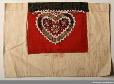 Bringklut @ DigitaltMuseum.no Scandinavian, Museum, Textiles, Beadwork, Belts, Ethnic, Crafts, Art, Hardanger