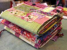 Beautiful inspiration for handmade journals