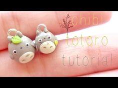 ▶ Chibi Totoro Tutorial (•ㅅ•).。.:*☆ - YouTube