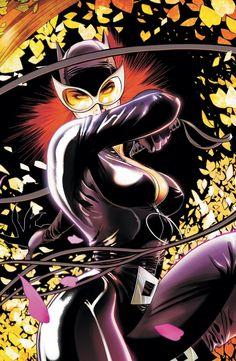 Ata-Boy DC Comics Gotham City Sirens - Catwoman x Magnet for Refrigerators and Lockers Dc Comics, Batman Comics, Comics Girls, Gotham City, Comic Book Artists, Comic Books Art, Comic Art, Bob Kane, Catwoman Comic